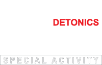 Fehér DETONICS special activity